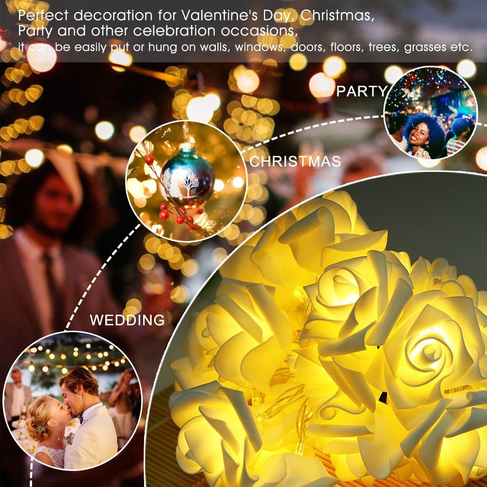 Guangzhou supplier LED Solar holiday Decoration Lights