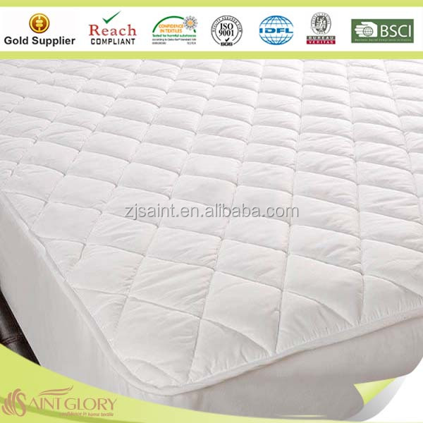 Quilted luxury multilayered structure waterproof mattress protector