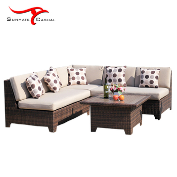 Rattan Adjustable Sectional Outdoor Hydraulic Bed Lift Sofa - Buy Outdoor  Hydraulic Bed Lift,Rattan Adjustable Outdoor Sofa,Sectional Sofa Set With  ...