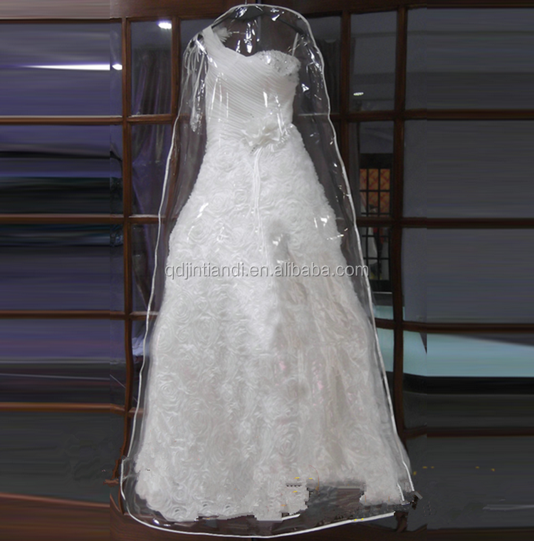 Whole Wedding Dress Garment Plastic Bag Extensions For