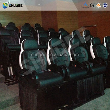Metal Flat Screen 9D Movie Theater , Truck Mobile Cinema , Private  Customized