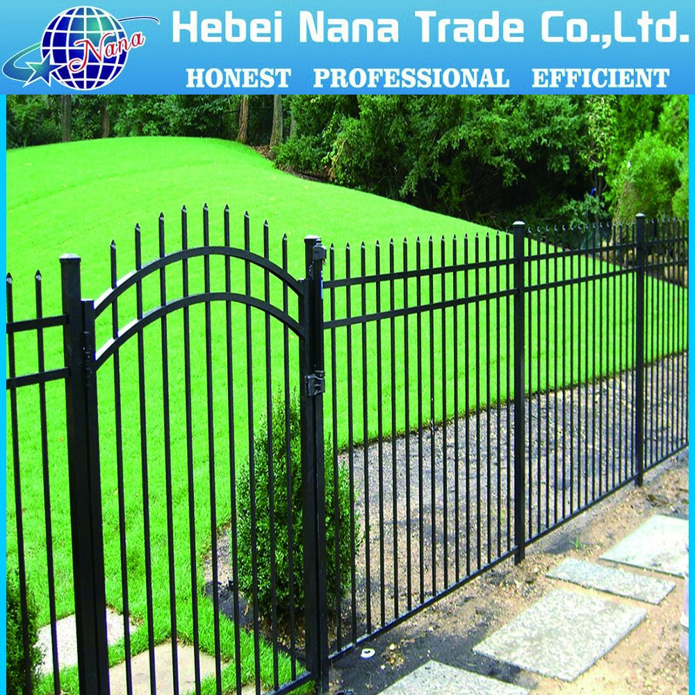 High quality aluminium picket fence