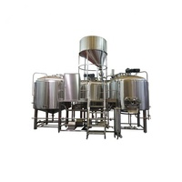 1000L Commercial Brewery Turnkey Micro All Grains Planting Beer Brewing System