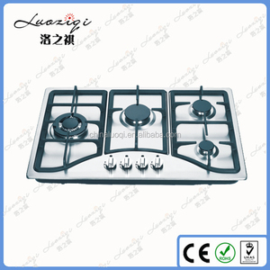Built-in Stainless steel household 4 burners table top gas stove/hob/cooktops/ cooker