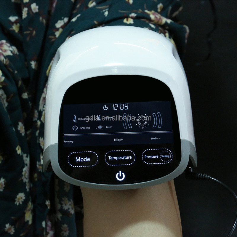 knee massager improve cell viability and regeneration ability laser light device