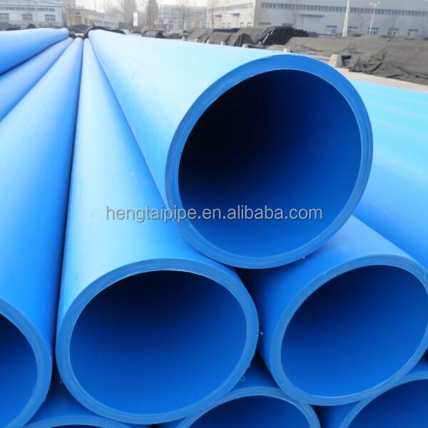 Azul de pl stico tubo de pead tubo de gua da tubula o de - Tubos para agua ...