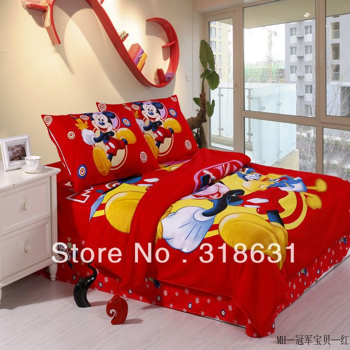 Shop Popular Mickey Mouse Bedroom Sets From China Aliexpress