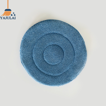 household cleaning product home hotel use blue round dust mop head