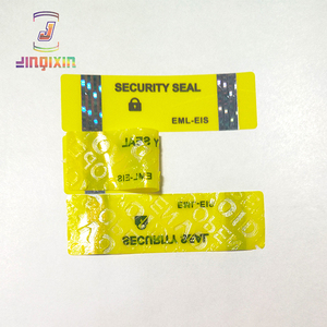 Environmental Destructive Warranty Void Tamper Evident label stickers non transfer VOID OPEN label no residue sticker