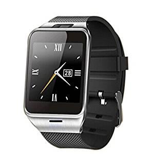 Jesiya™ GV18 Smart Watches Support NFC SIM Card MTK6260A Bluetooth Watch phone 1.54 Inch TFT 240*240px 1.3MP Camera 450mAh Life Waterproof (Black)
