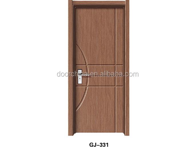 Flush wooden pvc room doors indian main door designs buy for Room door design photos