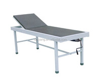 A-162 Plastic-sprayed metal single crank hospital exam bed for gynecology