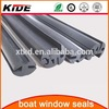 Automotive glass window glazing rubber seal profile