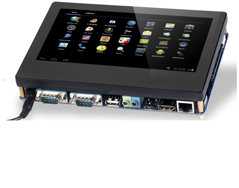 All In One Dual Core Ip65 Industrial Android Rugged Tablet