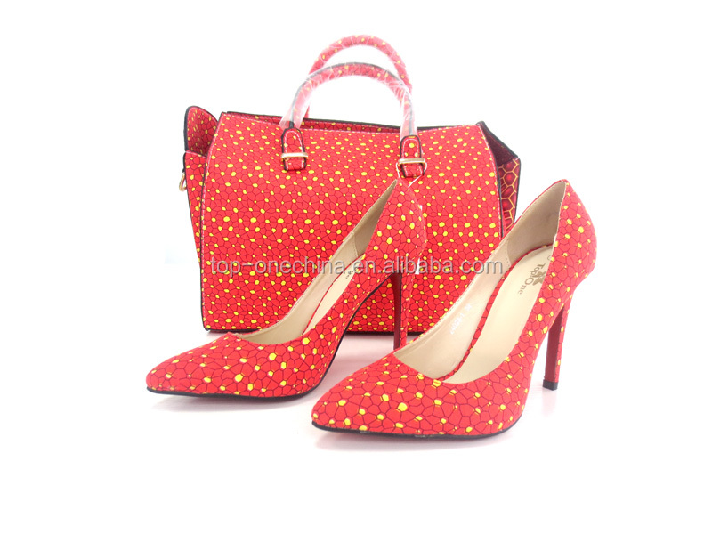 for holland and shoes party African bags wax shoes super bags wax heel and matching high FwqFaOg