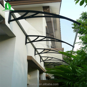 protect uv and rain polycarbonate patio shop stainless steel awning for windows