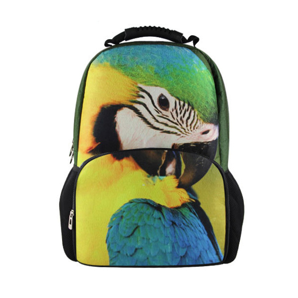 Obliging Fashion Teenager Girls School Schoolbag 3d Cute Animal Monkey Printing Backpack Large Capacity Women Travel Back Pack Mochila Luggage & Bags
