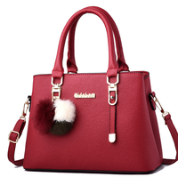 fashion women's bag high quality PU leather handbag lady handbag