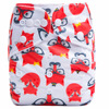 ananbaby reusable one size fox animal print pocket cloth baby diapers