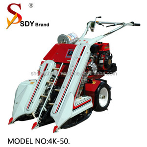 gasoline engine mini paddy wheat barley reaper and binder machine with CE certification 12months warranty