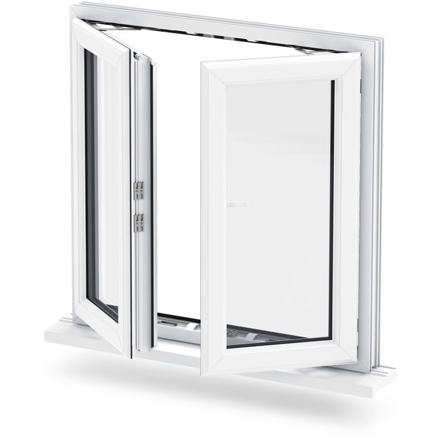 Conception De Gril De Fenêtre Pour Fenêtre à Battants En Aluminium