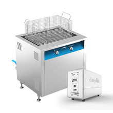 Industrial ultrasonic brass cleaning unit with timer and heater 77l 40khz ultrasonic cleaner