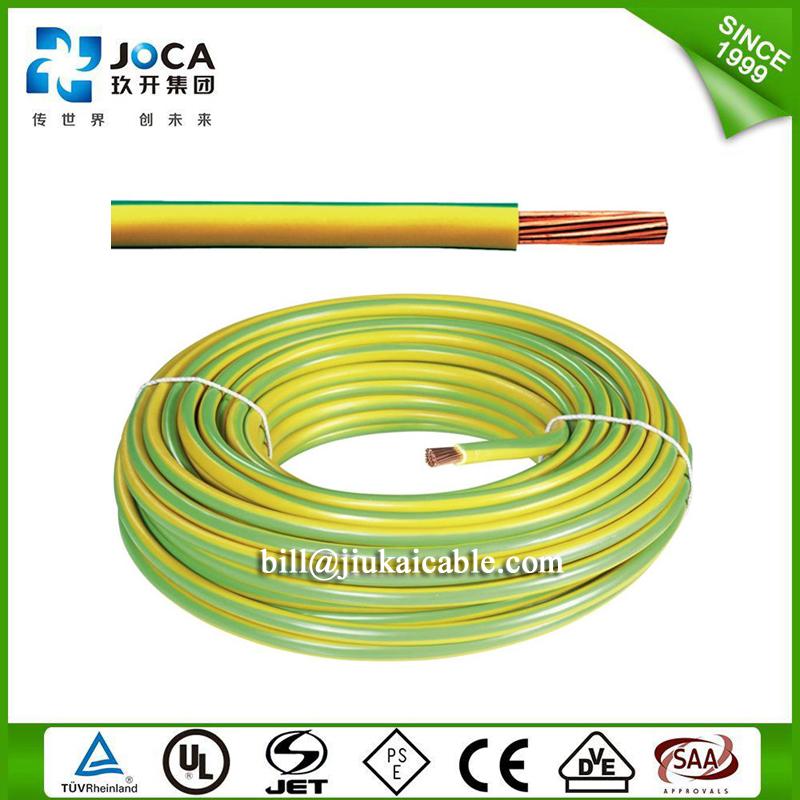 Finden Sie Hohe Qualität Gelb Und Grün Pvc Mantel Erdung Erddraht ...