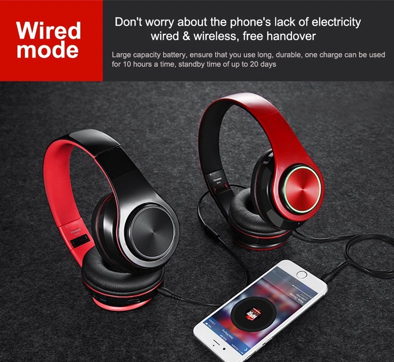 2019 Amazon Lampu LED Kebisingan Membatalkan Wireless Mendatang Stereo Earbud Gaming Headset Headphone untuk Komputer Aksesoris Earphone