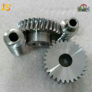 Forged OEM Custom CNC Machining Stepper Motor Worm Gear