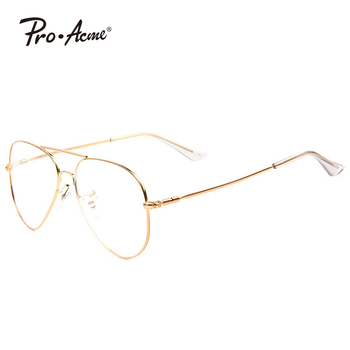 Pro Acme Fashion Aviation Optical Glasses with Clear Lenses Lens Glasses Prescription Eyewear Eye glasses Frames for Men PA0746