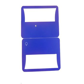 plastic business cards Promotional magnifying credit card magnifier