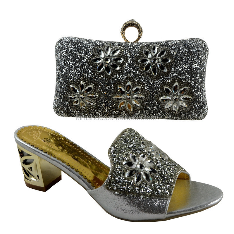 Wedding 9522 bag Bags Latest Nigeria With And Shoes Italian 37 Match set African Shoes To Stones With Matching Bag and shoe SSTHx