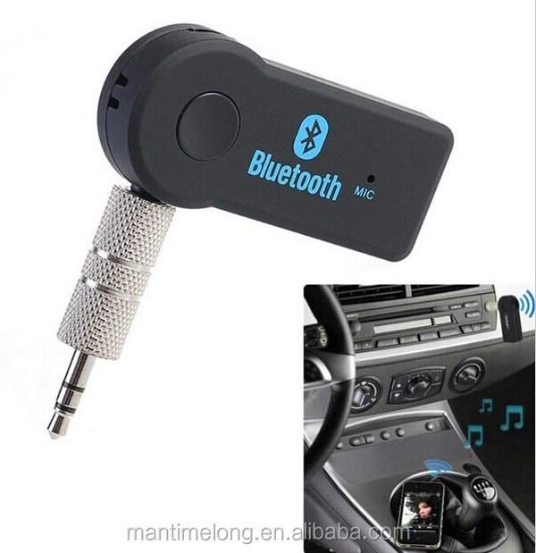 car audio connect aux with bluetooth audio mic. Black Bedroom Furniture Sets. Home Design Ideas