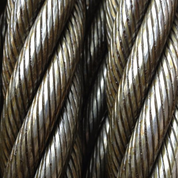 Wire Rope With Compacted Strand 6xk36ws+iwrc Warrington Seale ...