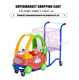 best spain metal shopping cart supermarket shopping toy car shopping trolley