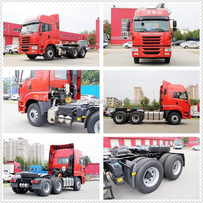 6x4 430hp Foton Prime Mover Heavy Duty Tractor Truck Foton