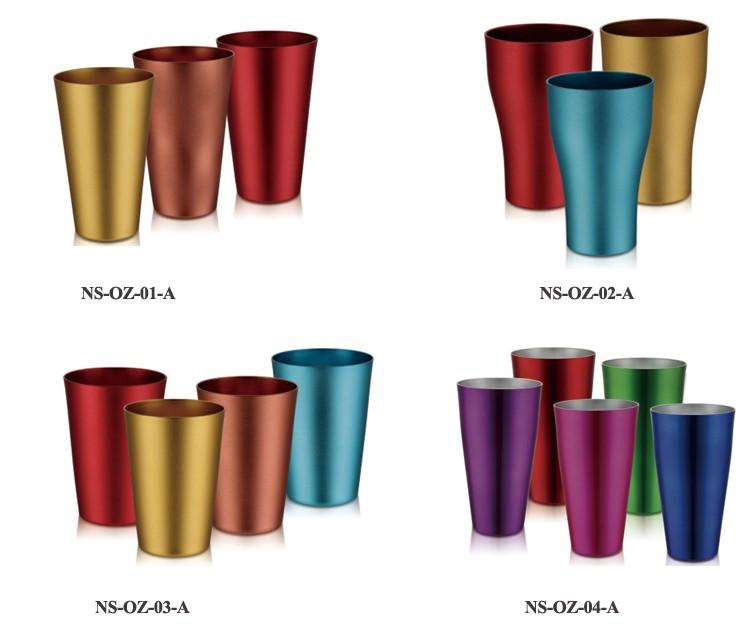 Aluminum Coffee Mug Eco Friendly Stainless Steel Cup Kids Bottle Aluminium Beer