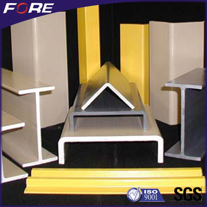 High Strength White Fiberglass Reinforced FRP Light Pole For Ladders