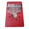 1PCS Mbira Thumb Piano 10 Key Finger Thumb Piano Pine Kalimba Thumb Piano