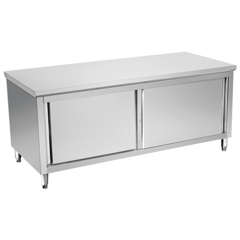Commercial Heavy Duty Stainless Steel Kitchen Base Cabinet With