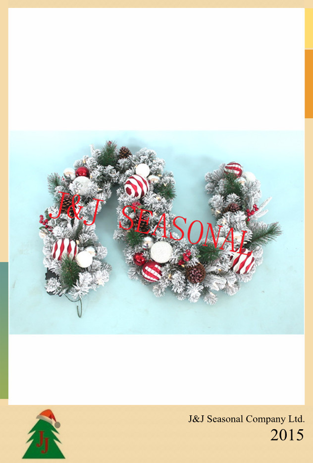 Christmas Wired Tinsel Garland, Christmas Wired Tinsel Garland ...