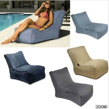 Swimming Pool Resting L Shape Bean Bag Lounger Sofa Bed Buy L