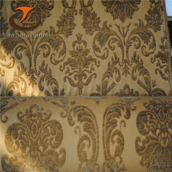 Eco Friendly Fabrics Wholesale Dubai Upholstery Fabric Moroccan Jacquard  Chenille Sofa Fabric
