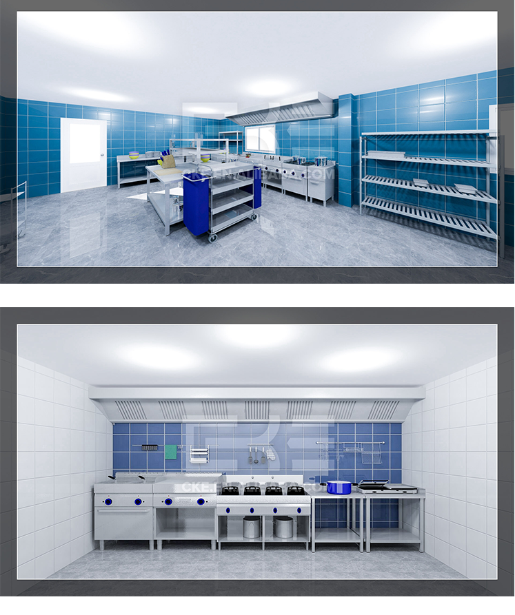 Cke Used Hotel Kitchen Food Catering Equipment For Sale