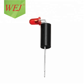 WEJ 3mm LED diode DIP led red diffused emitting diode led lamp holder