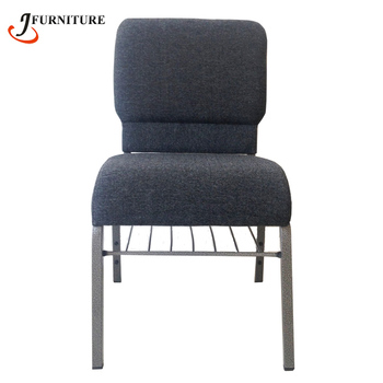 Wholesale Back Pocket Metal Cinema Church Chairs