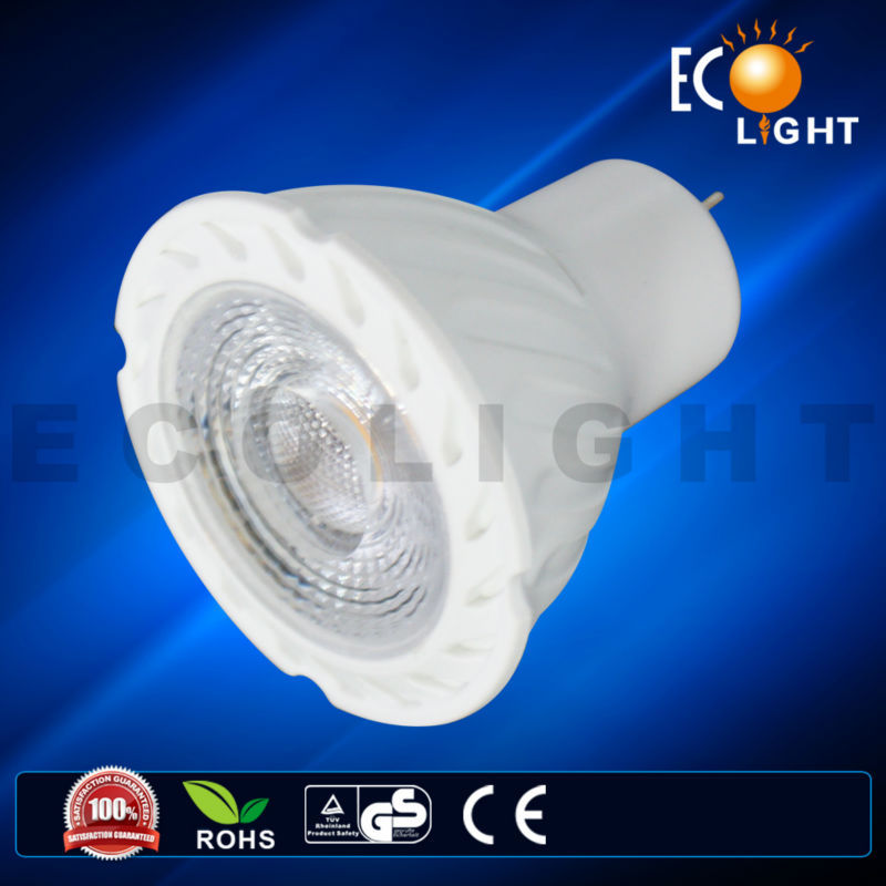 High Luminous Flux Different Watt .MR16 GU10 led spot light with CE approved