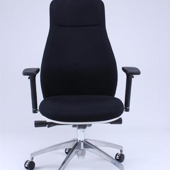 Ergonomic Swivel High Back Fabric Task Office Chair with Adjustable Armrest (High Version)