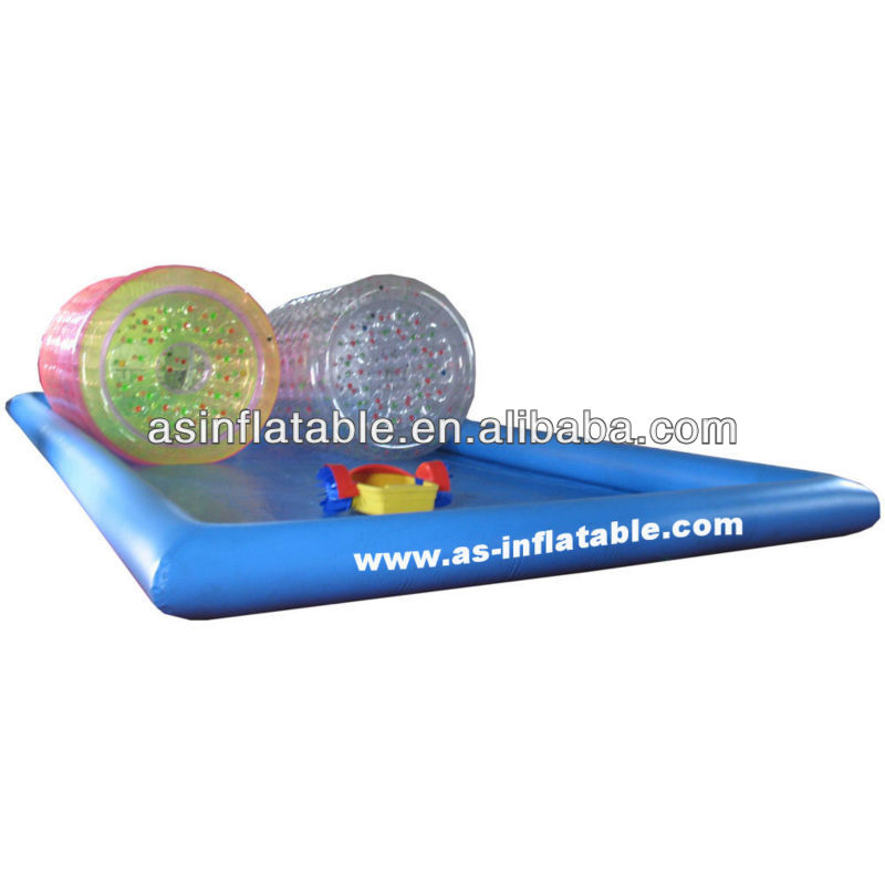 water park inflatable rectangular plastic pool for water games