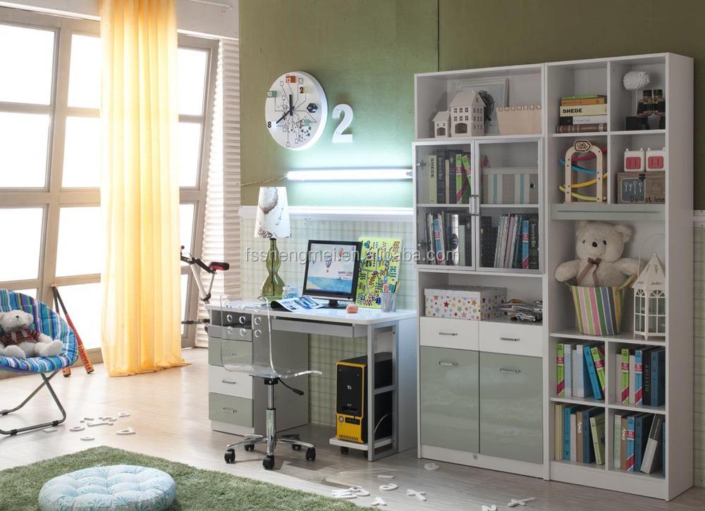 Leuke ontwerp kleurrijke kid meubelen slaapkamer set jongens